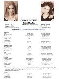 Actor Resume Wonderful Acting Resume Sample Enjoyable Ideas For Actors Free 37