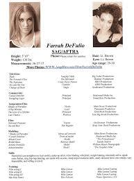 Acting Resume Wonderful Acting Resume Sample Enjoyable Ideas For Actors Free 89