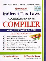Gst Charts For May 2018 Buy Aadhya Prakashans Indirect Tax Laws A Quick