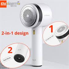 Xiaomi Mijia <b>Deerma Portable Lint</b> Remover Hair Ball Trimmer ...