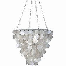 capiz shell pendant light fixtures elegant 72 spiral white shell chandelier