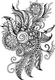 Tetování Ornament Kytka Taška Malá