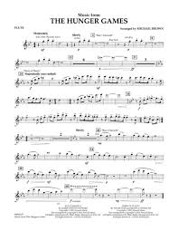 Small Picture Flute Sheet Music Country Songs Download Music From The Hunger