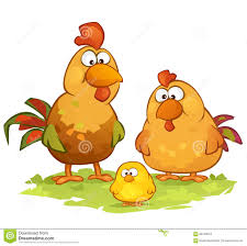 cartoon images of chickens. Beautiful Images Download Cartoon Chickens Stock Vector Illustration Of Family  66729543 Intended Images Of C