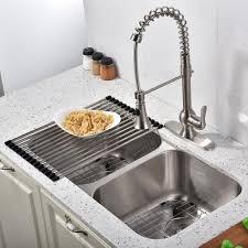Astounding 18 Gauge Stainless Steel Undermount Kitchen Sink Double