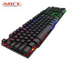 IMice Oyun Klavye 104 Klavye Tuşları RGB Arkadan Aydınlatmalı Mekanik Duygu Klavye  Oyunu Klavye RU Sticker Ile PC Dizüstü Bilgisayar Için Kategoride. Fare Ve  Klavyeler - Universe-inspired.news