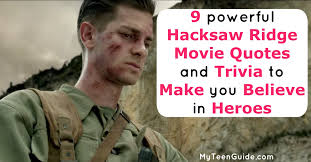 Hacksaw Ridge Quotes