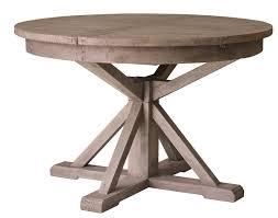 irish coast round extension dining table sundried