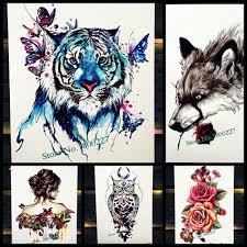 Dočasné Tetování Tygr