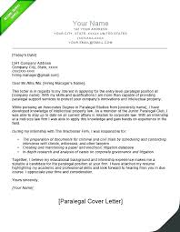 Sample Cover Letter For Lawyer Resume Sample Cover Letter Legal Assistant No Experience Law Firm Example