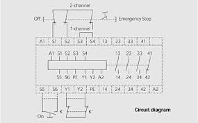 emergency stop relay diagram emergency image tesch de f101 e stop relay e stop relay and safety gate on emergency stop