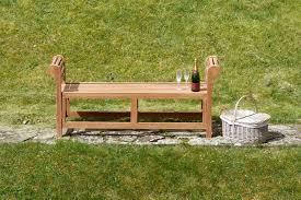 excellent lutyens backless teak garden bench 15m sloane sons throughout backless outdoor bench popular