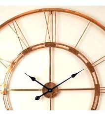 metal wall art clocks gear wall decor metal wall clock art copper inch handmade wall clock