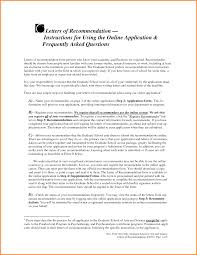 Letter Of Recommendation Sample Graduate School From Employer 11