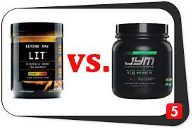 beyond raw lit vs pre jym best 5 supplements
