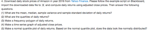 Yahoo Quotes 34 Inspiration Yahoo Finance Link Httpsfinanceyahooquo Chegg