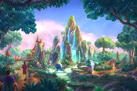 Disney Landscape Design This Could Be The Rock Work Needed For Wushia The Parks