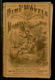 Image result for beadles dime novels