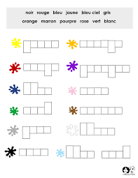 Free French Worksheets - Online & Printable