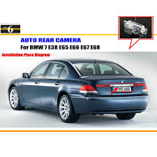 online get cheap bmw 7 e67 car rear camera aliexpress com car parking camera reverse camera for bmw 7 e38 e65 e66 e67 e68 rear view camera license plate light oem