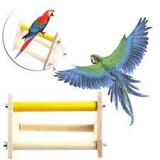 bird perch stand pet parrot bird wooden perch stand play toys training activity table bird perch bird perch