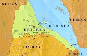 Image result for eTHIO-eRITREAN DISPUTED MAP