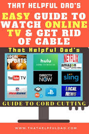 Best Live Tv Streaming Services For Cord Cutters Sling Tv