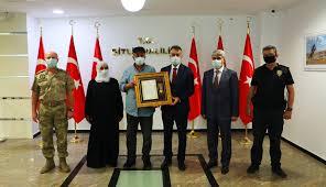Bitlis Valiliği - Bitlis'te Şehit Ailesine 'Devlet Övünç...