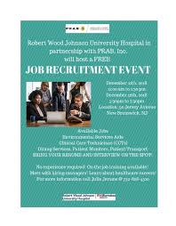 healthcare assistant jobs no experience required rwj prab job recruitment eventcity of new brunswick