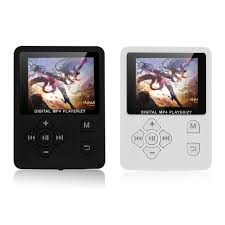 English Light Music Mp3 Black White Digital Mp3 Player 1 8 Inches Tft Lcd Screen Light Weight Music Player Lossless Audio Video Support Fm Radio Voice Mp3 Plyer Shower Mp3