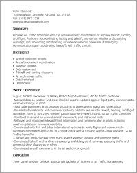 Resume Templates: Air Traffic Controller