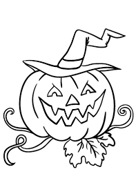 Small Picture Free Jack o lantern Coloring Page
