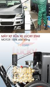 Máy phun áp lực rửa xe Lucky Star 2200PSI