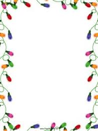 Christmas Stationery Border Templates For Free Festival Collections