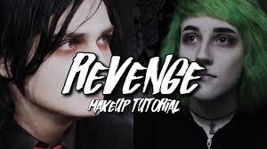 gerard way revenge era makeup look band member makeup tutorial series