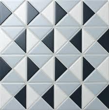 Blue Mountain Kaleidoscope 2 Triangle Geometric Tiles Design