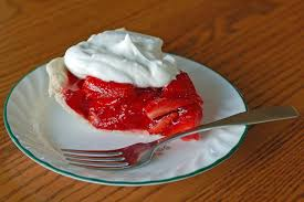 strawberry pie slice. Perfect Pie Picture Of A Strawberry Pie Slice With Whipped Cream On Plate And Strawberry Pie Slice W