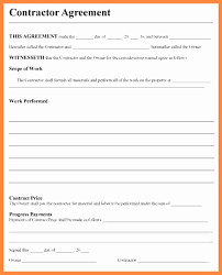 Subcontractor Agreement Format 30 Unique Subcontractor Agreement Template Free Pics Awesome