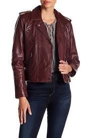 lucky brandmajor leather moto jacket