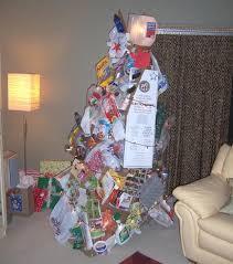 Alternative Christmas Tree - Recycled Christmas