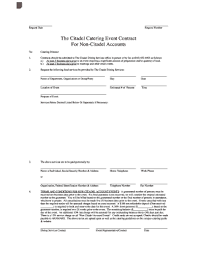 Catering Contract Samples 122 Printable Catering Contract Template Forms Fillable