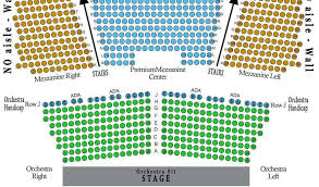 St Louis Blues Seating Chart Abiding Seating Chart For Imperial Theater Meadowbrook