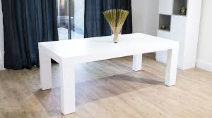 white wooden dining table uk delivery modern white dining table o42