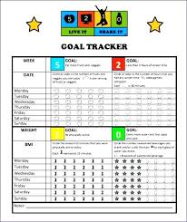 Fundraiser Tracking Spreadsheet Goal Tracker Template Tracking Monthly Excel Fundraising Grillaz Co
