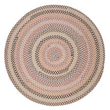traditional and trend setting colors blend festively in this reversible oval braided rug to put a vibrant stamp on any decor custom sizes are available