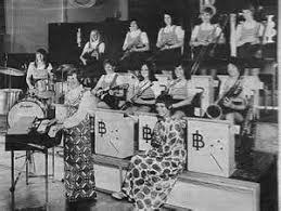 Ivy Benson Band | Girl bands, Saxophone players, Band