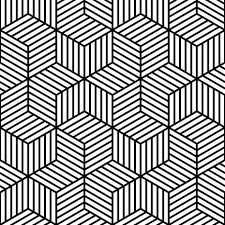 From a book or print Black and White / pattern design / optical art