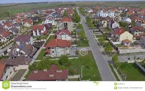 Perfect Aerial View Of Suburban Bedroom Community In Chisinau, Moldova. Stock Video    Video Of Cluster, Rooftops: 92164611