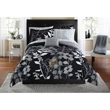 formula solid ruched bedding forter set from black and white gothic bedding source