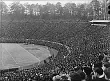 Duke University Football Stadium Seating Chart Wallace Wade Stadium Wikipedia